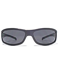 FCUK Oval Sports Wrap Sunglasses