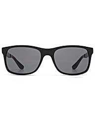 Ben Sherman Rectangle Plastic Sunglasses