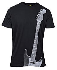Caterpillar Guitar T-Shirt
