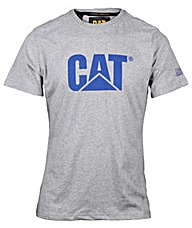Caterpillar Logo T-Shirt In Slim Fit
