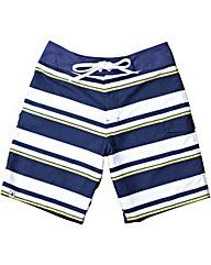 Brakeburn Stripe Side Pockets Boardie