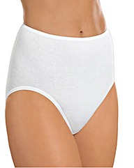 Naturana White Maxi Brief