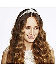 Alan Hannah Devoted Crystal Swirl Tiara