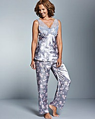 Pretty Secrets Lace Detail Pyjama Set