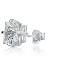 One Sterling Silver Gents 9mm Stud