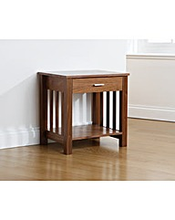 Lincoln 1 Drawer Side Table