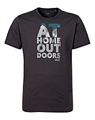 Jack Wolfskin Slogan T-Shirt