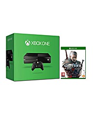 Xbox One 500gb and The Witcher 3 Game