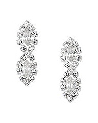 Jon Richard Lydia Diamante Earring