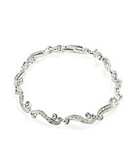Jon Richard Grace Crystal Bracelet
