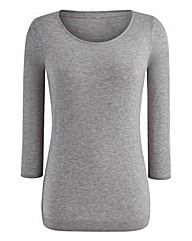 Plain 3/4 Sleeved Jumper