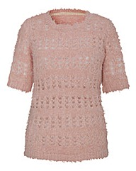 Pointelle Fluffy Jumper