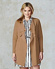 AX Paris Waterfall Jacket With Belt