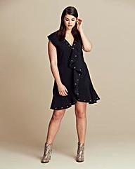 Lavish Alice Eyelet Drop Waist Dress