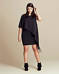 Lavish Alice Asymmetric Mini Dress