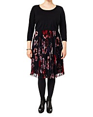 Studio 8 Isabel Pleat Skirt Dress