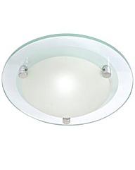 Lacunaria Small Flush Bathroom Light