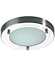 Mari Flush Bathroom Light