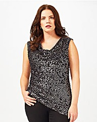 Studio 8 Tyra Sequin Top