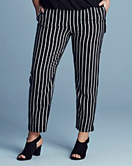 Alice & You Stripe Ankle Trousers