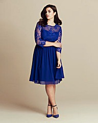 Little Mistress Lace Detail Dress
