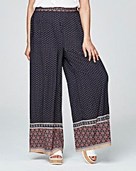 Alice & You Print Wide Leg Trousers