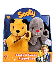Sooty and Sweep Puppet Set