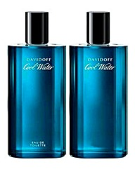 Davidoff Cool Water 75ml BOGOF