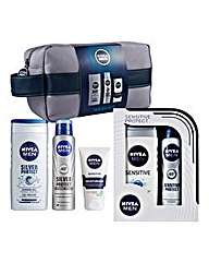 Nivea Men Wash Bag & Sensitive Gift Sets