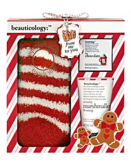 Beauticology Socks and Toiletry Gift Set