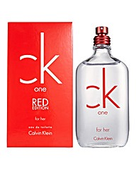 CK One Red for her 50ml EDT