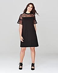 Simply Be Mesh Top Dress