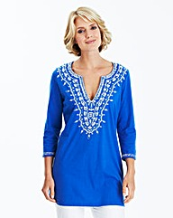 Nightingales Embroidered Tunic