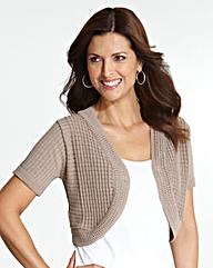 Nightingales Knitted Shrug