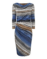 Murek Stripe Jersey Dress