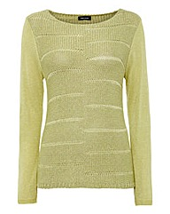 Gerry Weber Lurex Chunky Knitted Jumper