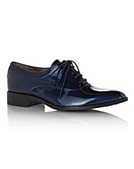 HB Shoes Patent Lace-up Brogue Shoes