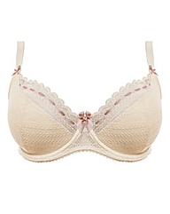 Tutti Rouge Lilliana Cream/Nude Lace Bra