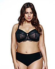 Ashley Graham Fatal Attraction Black Bra