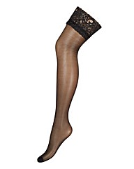 Ann Summers Lace Top Glossy Stockings