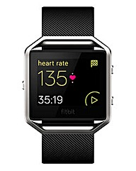 Fitbit Blaze Smartwatch Black Large