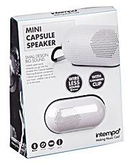 Intempo Mini Capsule Speaker White