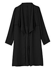 Black Kimono Mac Detail