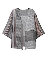 Mono Print Kimono