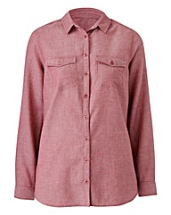 Purple Chambray Shirt