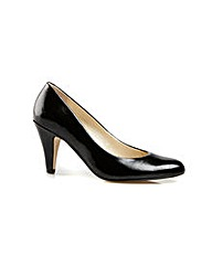 Van Dal Holt Black Feature Court Shoe