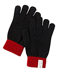 Firetrap Colour Block Gloves