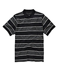 French Connection Jersey Stripe Polo