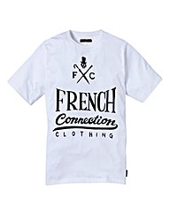 French Connection Clothing Logo T-Shirt