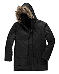 French Connection Fur-Lined Hood Jacket